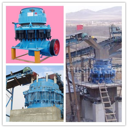 Symons cone crusher crushing characteristics and working principle introduction