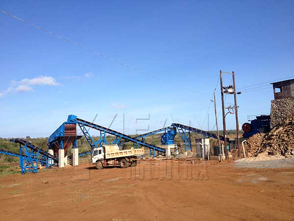 YIFAN 150tph Complete Crushing & Screening Plant was Successfully Put into Operation in Tanzania