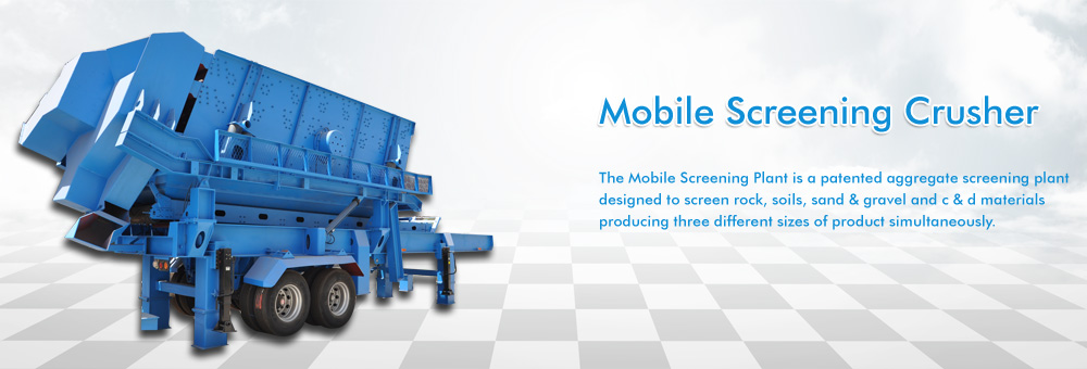 Mobile Screening Crusher