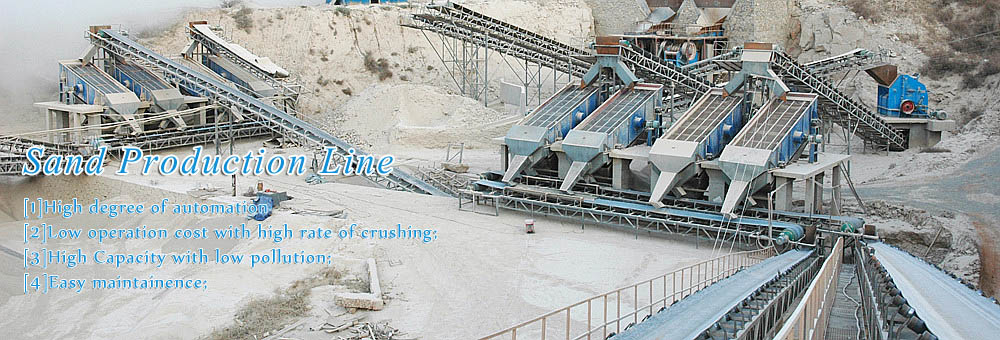 400t/h Aggregate Processing Systerm in Hezhouba Hydropower Station