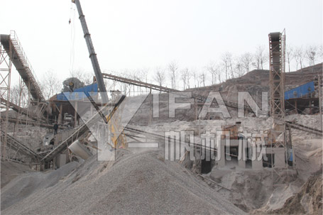 Sand production line--Yifan Machinery