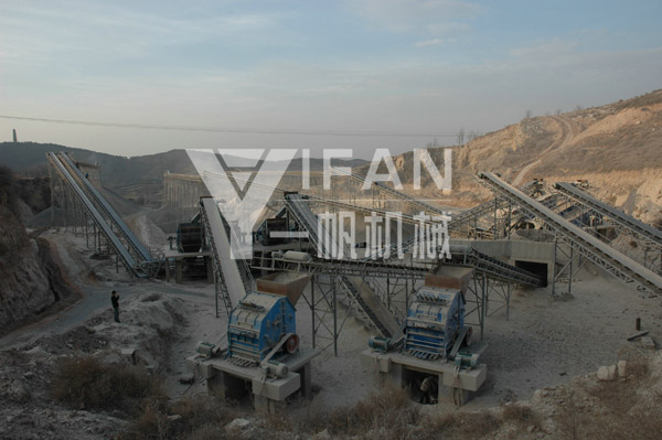 1000t/h Aggregate Production Line of Changzhi, Shanxi