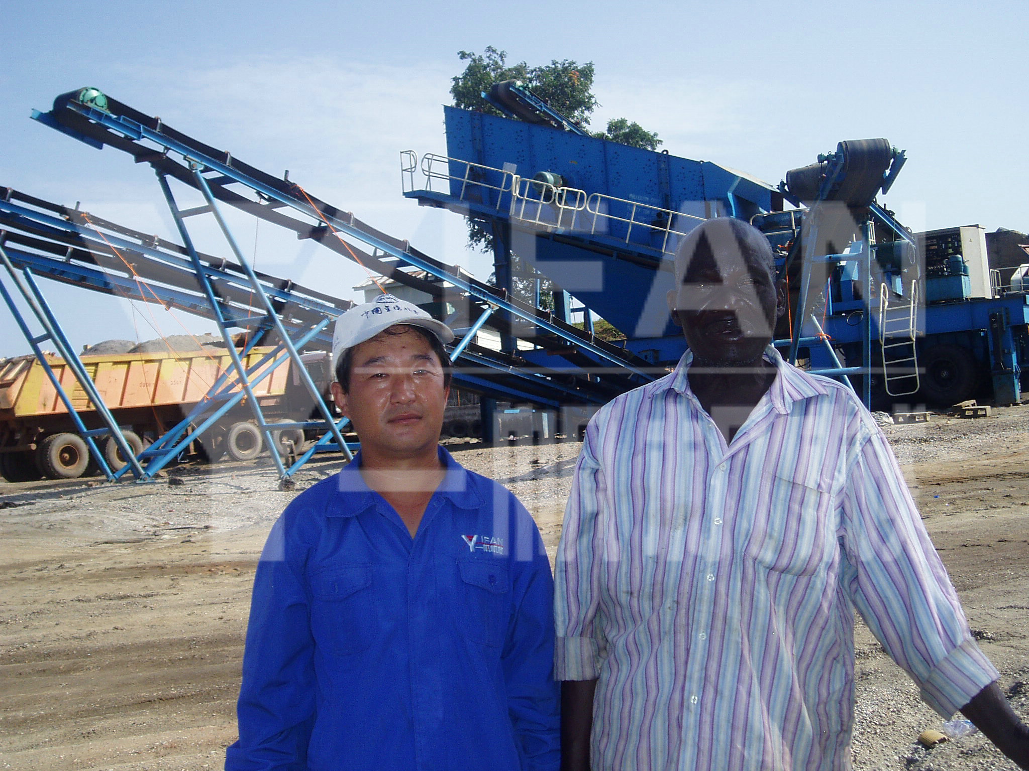 Portable Plants Employed In Africa --YIFAN MACHINERY
