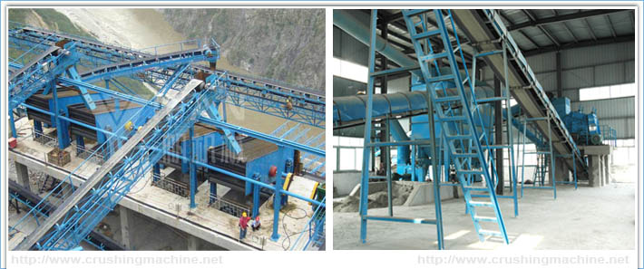 400t/h Aggregate Processing Systerm in Hezhouba Hydropower Station -1