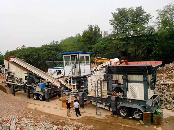construction waste recycling equipment