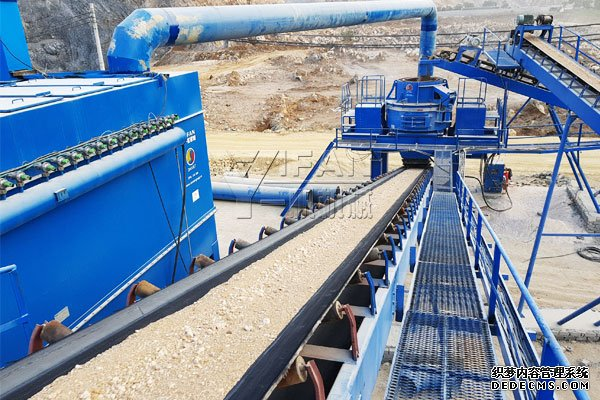 Dry Sand Production Line in Vietnam